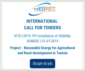 INTERNATIONAL CALL FOR TENDERS